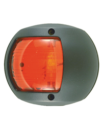 Red Navigation Side Light (Black Polymer)