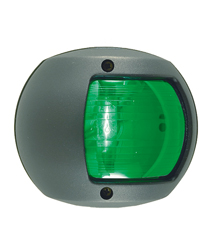 Green Navigation Side Light (Black Polymer)