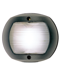 White Stern Navigation Light (Black Polymer)