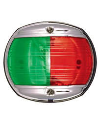 Bi-Color Navigation Light (Chrome)