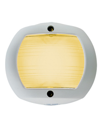 Yellow Towing Navigation Light (White Polymer)