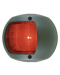 LED Red Side Navigation Light (Black Polymer)