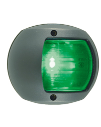 LED Green Side Navigation Light (Black Polymer)