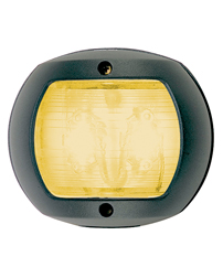 LED Yellow Towing Navigation Light (Black Polymer)
