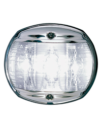 LED White Masthead Navigation Light (Chrome)