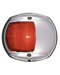 LED Red Side Navigation Light (Chrome)