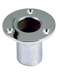 Flush Flag Pole Socket (Straight Bow Socket)