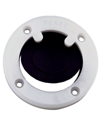 "PERKO COCKPIT SCUPPER WHITE FOR USE WITH 1-1//2/"" HOSE 0285DP MARINE BOAT"