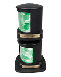 Flex Mount System LED Double Stack Navigation Lights - Red & Green Side Lights