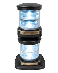 Flex Mount System LED Double Stack Navigation Lights - Masthead Light