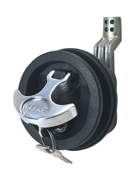 Surface Mount Lock & Latch For Smooth and Carpeted Surfaces