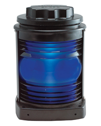Panama Canal Blue Steering Light