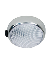LED Dome Light w/ On/Off Switch - 12 or 24 Volt