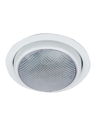 Round Surface Mount LED Dome Light with Trim Ring
