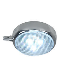 Round Surface Mount LED Dome Light with Adjustable Dimmer