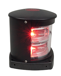 Flex Mount Single LED Red & Green Side Lights