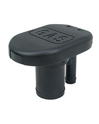 "EPA Compliant Sealed Flip Top Cap Fills for 1-1/2"" Hose with VPR - Straight Neck"