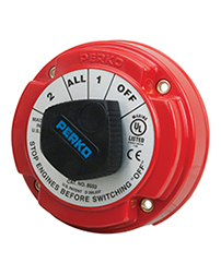 Medium Duty Battery Selector Switch with AFD