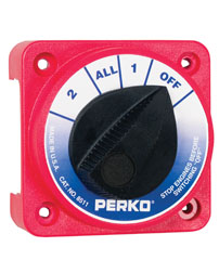 Compact Medium Duty Battery Selector Switch