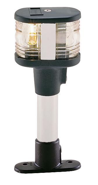 2 Mile 4 Inch Fixed Mount All Around White Navigation Light for Boats