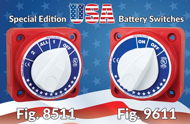Special Edition USA Battery Switches