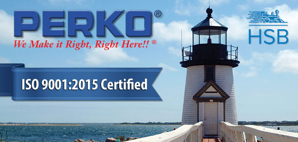 PERKO achieves 9001:2015 ISO certification